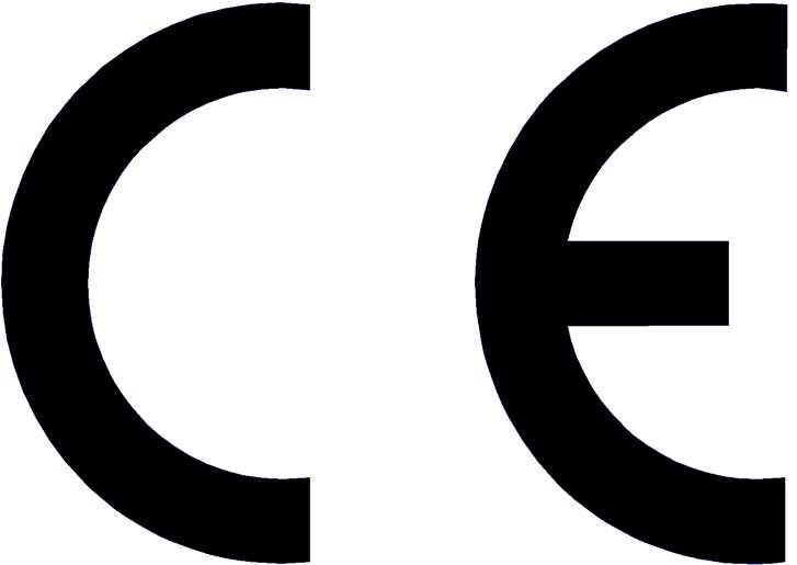 Znak CE - minimalna wysokość 5 mm