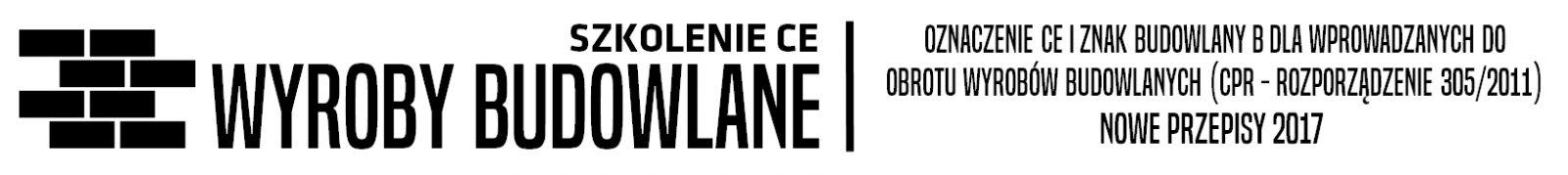 znak CE dla wyrobów budowlanych
