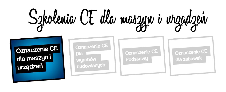 szkolenie CE maszyny