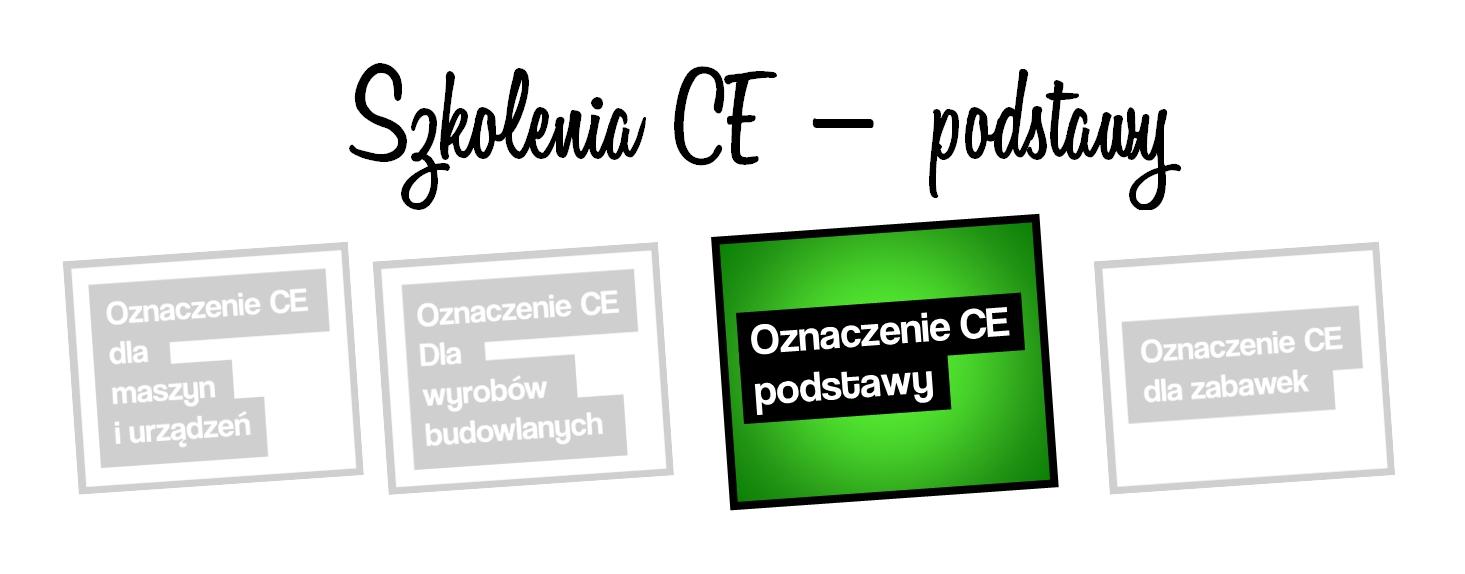 szkolenia CE podstawy